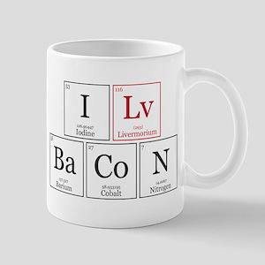I Lv BaCoN [I Love Bacon] Mug